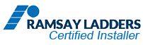 Ramsay Ladders Certified Installer